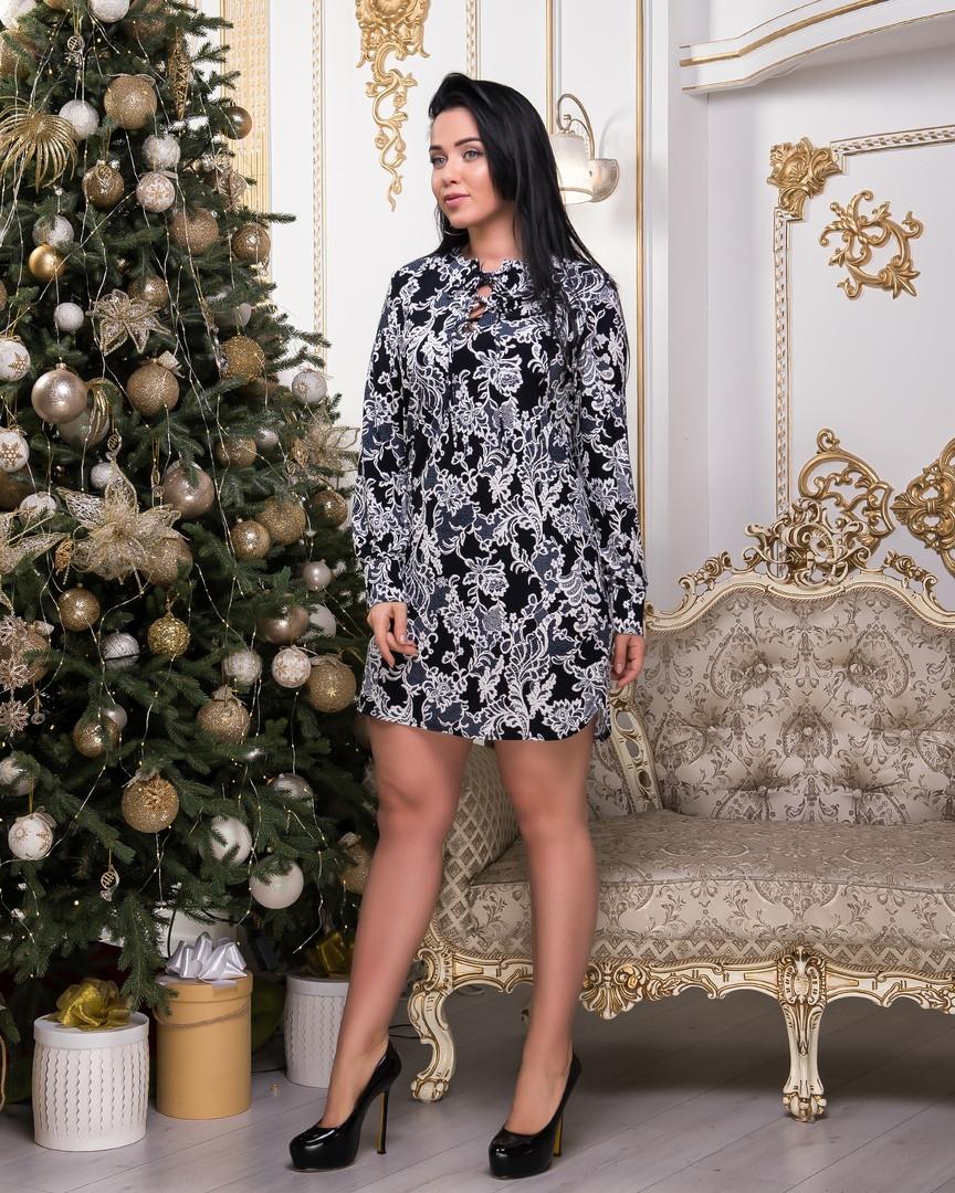 Платье женское Ткань масло Размеры 46-48,48-50,50-52