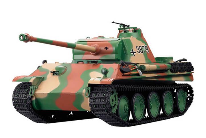 Танк на радиоуправлении Пантера Panther Type G HENG LONG 3879-1. Суперподарок!