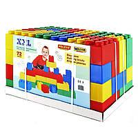 Конструктор строительный XXL, 72 элемента, «Wader» (41999)