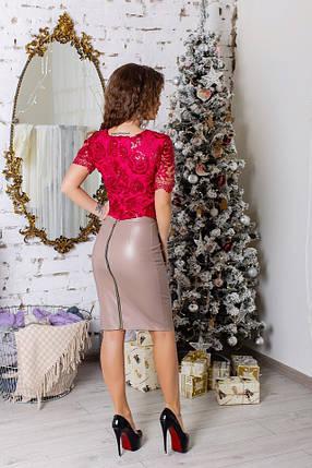 Костюм юбка+блуза 74270.1, фото 2