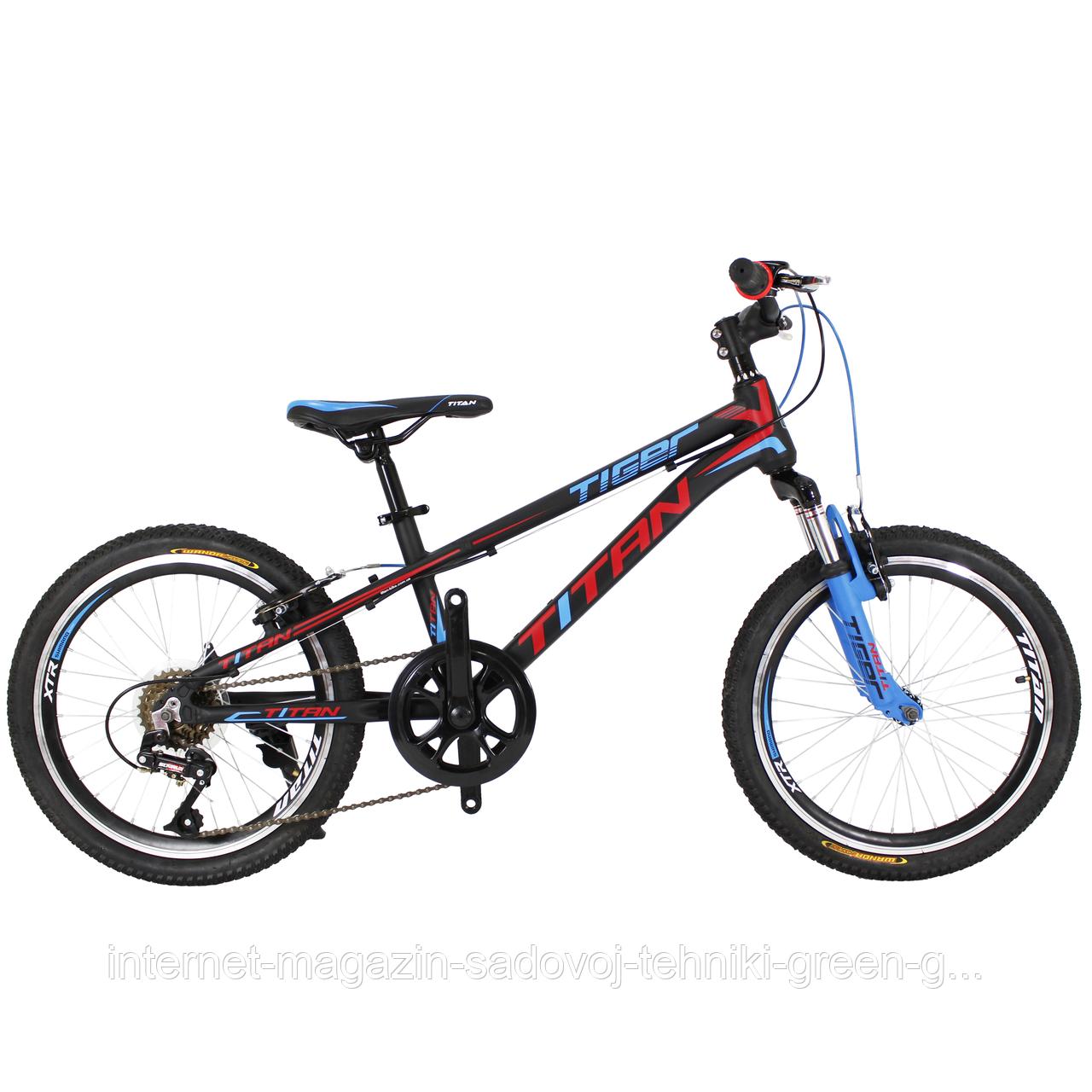Велосипед Titan Tiger 20″, алюминиевая рама (Украина)