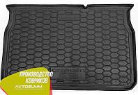 Авто коврик в багажник Citroen C3 2017- (Avto-Gumm) Автогум