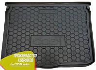 Авто коврик в багажник Fiat 500X 2015- (Avto-Gumm) Автогум