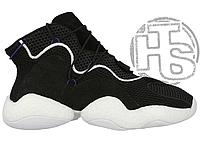 Мужские кроссовки Adidas Crazy BYW LVL 1 Black/White CQ0991