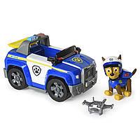 Щеня Чейз в новій екіпіровці і його патрульна машина, Paw Patrol