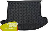 Авто коврик в багажник Kia Carens 2006- (5 мест) (Avto-Gumm) Автогум