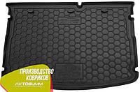 Авто коврик в багажник Kia Rio 2015- Hatchback (без органайзера) (Avto-Gumm) Автогум