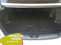 Авто коврик в багажник Kia Rio 2015- Sedan (Avto-Gumm) Автогум, фото 1