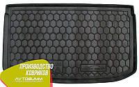 Авто коврик в багажник Nissan Micra (K13) 2010- (Avto-Gumm) Автогум, фото 1