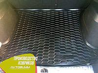 Авто коврик в багажник Peugeot 308 2008- Universal (5 мест) (Avto-Gumm) Автогум, фото 1