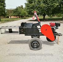 Тюковщик (прессовщик) соломы, сена Ярило с бензиновым двигателем Weima 190F-L (16 л. с.)