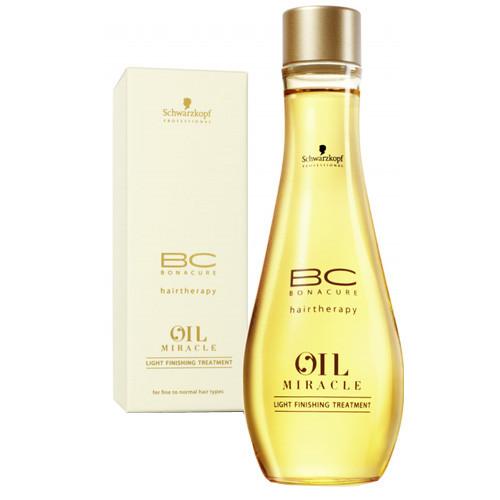 Масло для тонких и нормальных волос Schwarzkopf ВС Oil Miracle Light Finishing  100 мл