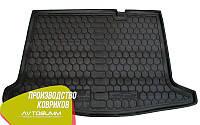 Авто коврик в багажник Renault Sandero 2013- (Avto-Gumm) Автогум