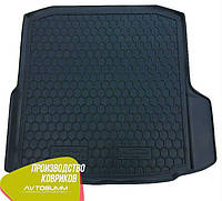 Авто коврик в багажник Skoda Octavia A7 2013- Liftback (Avto-Gumm) Автогум