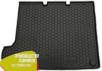 Авто коврик в багажник Volkswagen T5 2010- (удлиненная база без печки) Caravelle (Avto-Gumm) Автогум, фото 1
