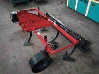 Культиватор сплошной обработки Ярило StarMet 2.0 с грудобоем для минитрактора, трактора
