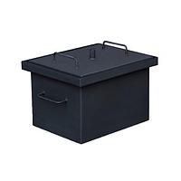 Коптильня горячего копчения малая с покраской (380x320x300 мм)