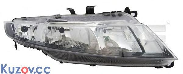 Фара левая Honda Civic 06- HB (TYC)
