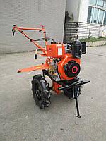 Мотоблок дизельный Tata TT-1100AE-ZX (WM178F, 6 л. с., с эл. стартером, фреза в к-те) оригин, фото 1