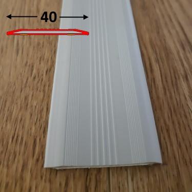 Противоскользящая резиновая накладка плоская самоклеющаяся 0.9 м., Светло-серый