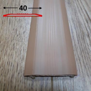Противоскользящая резиновая накладка плоская самоклеющаяся 0.9 м., Капучино