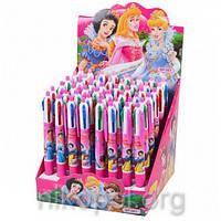"""Ручка детская """"Принцессы"""" 4 цвета, автоматическая"""