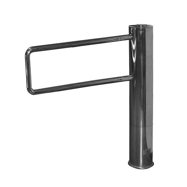 Турникет-калитка Gate-SPR, шлифованная нержавеющая сталь