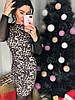 Женское платье с леопардовым принтом в расцветках. Д-47-1218, фото 5