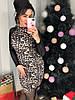 Женское платье с леопардовым принтом в расцветках. Д-47-1218, фото 7