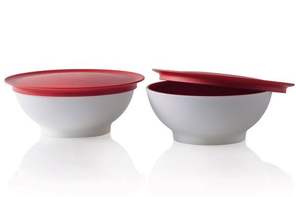 Чаша Аллегро 275 мл Tupperware красная