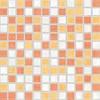 GDM02115 | Мозаика  SAMBA для ванной 2,5x2,5 многоцветный Rako