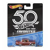 Легендарная машинка Hot Wheels серии 50-летний юбилей в ассортименте (10) (FLF35)