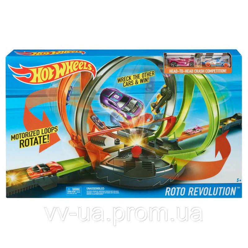 Моторизированный трек Hot Wheels Революционные гонки (FDF26)