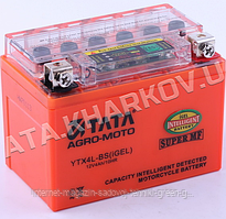 Аккумулятор Tata 12V, 4Ah (гелевый, с индикатором, 114х70х86 мм)