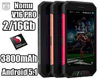 Защищенный противоударный и водонепроницаемый смартфон Nomu V16 PRO IP68Qualcomm Snapdragon