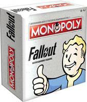 Монополия Fallout (англ) (Monopoly Fallout (eng)) настольная игра