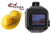 Беспроводной эхолот часы Lucky FF518 Fishfinder с цветным экраном