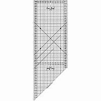 Линейка для пэчворка Sew Mate M2060-BK (20 x 60 см)