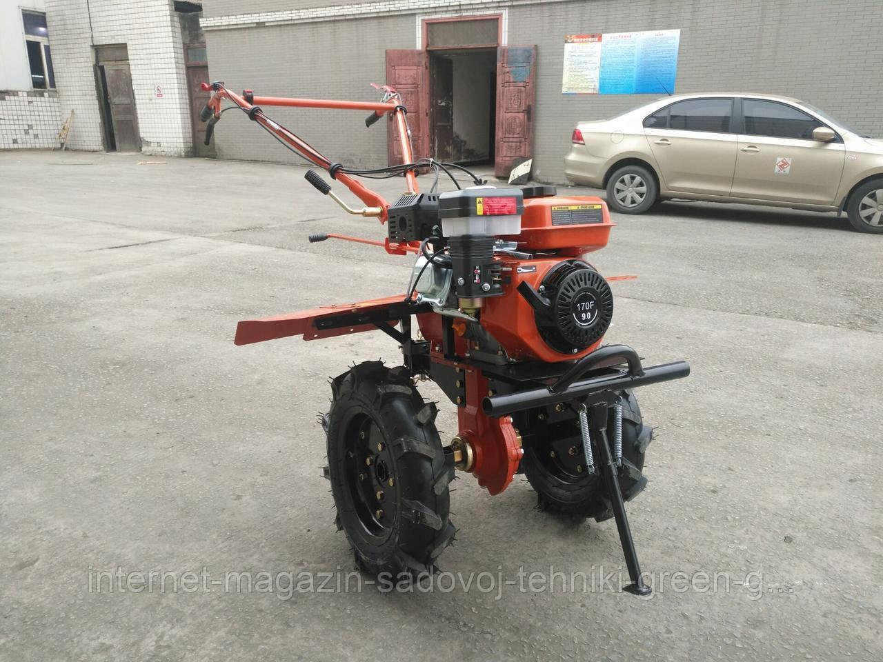Мотоблок бензиновый Tata ТТ 1100D-ZX (9 л. с., WM177F, фреза в к-те) оригинал