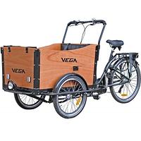 Велосипед (велорикша) Vega Riksha-1 (7 скоростей) wood