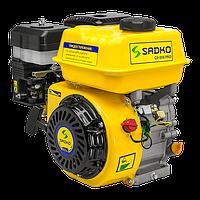 Двигатель бензиновый Sadko GE-200 PRO (шлицевой вал, фильтр в масл. ванне) уценка