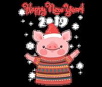 График работы Студия шарм  в новогодние праздники !!!