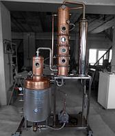 Дистиллятор медный 130 литров (12 кВт)