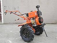 Мотоблок дизельный Tata TT-1100B-ZX (WM186FB, 9 л. с., фреза в к-те) оригинал, фото 1