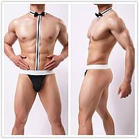 Чоловічий еротичний костюм / Еротична білизна / нижня білизна / Еротична сексуальна білизна