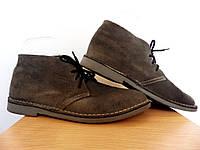 Мужские дезерты 100% Оригинал р-р 44 (28,5 см) (сток, б/у) высокие туфли, фото 1