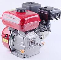 Двигатель бензиновый Tata YX168F (6,5 л. с., под конус: Ø16/Ø19 мм, L-70 мм)