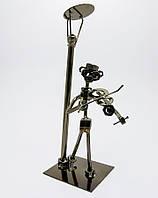 "Техно-арт ""скрипач"" металл (25,5х10х10 см)(c105)"