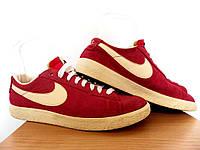 Мужские кроссовки Nike Blazer Low Suede Fusion Red 100% Оригинал р-р 41 (26 см)  (б/у,сток) original найк , фото 1