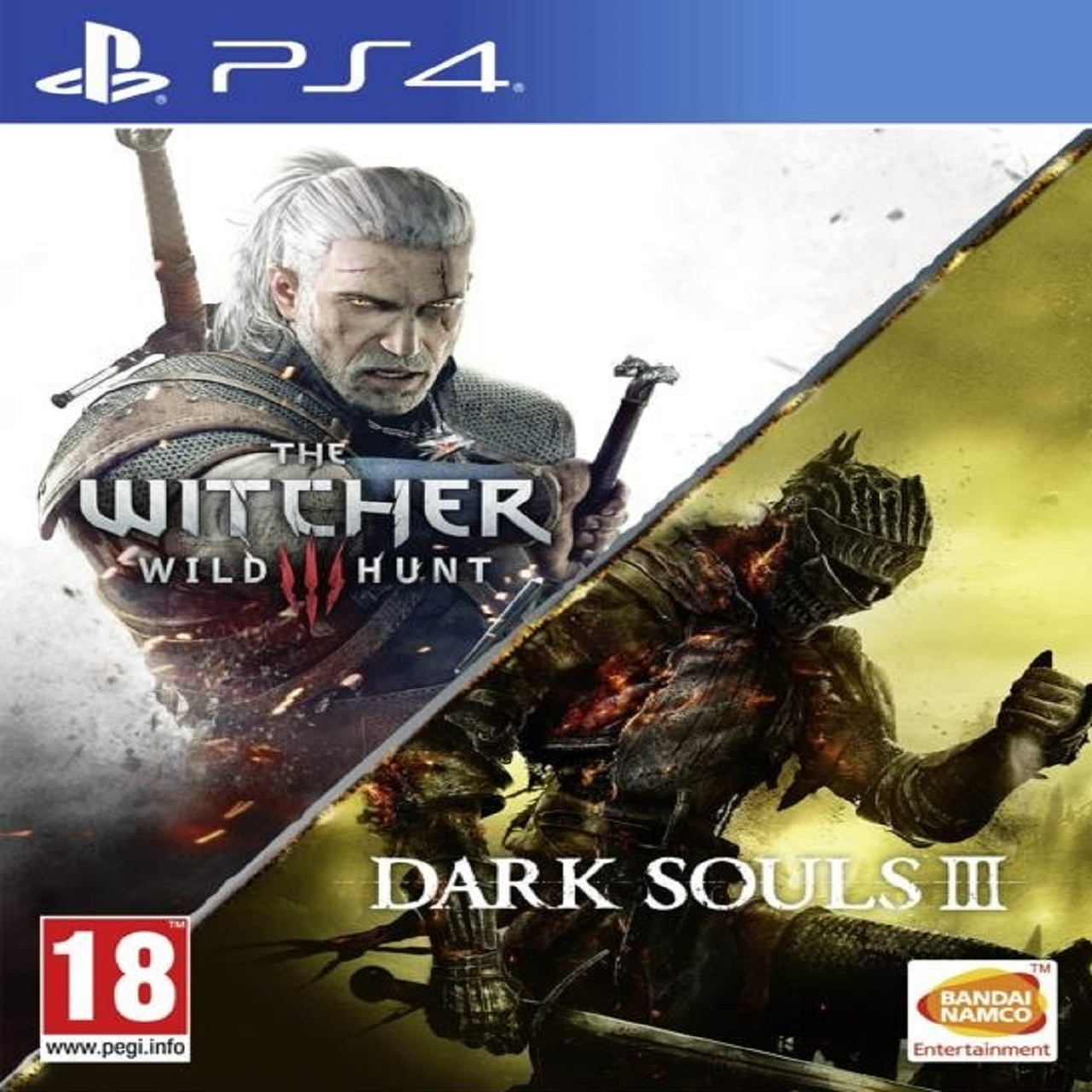 The Witcher 3 + Dark Souls 3 (NEW) RUS/RUS PS4